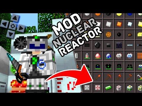 LANÇOU! NOVO MOD INDUSTRIAL CRAFT + NUCLEAR REACTOR PARA MINECRAFT PE ! - (Minecraft Pocket Edition)