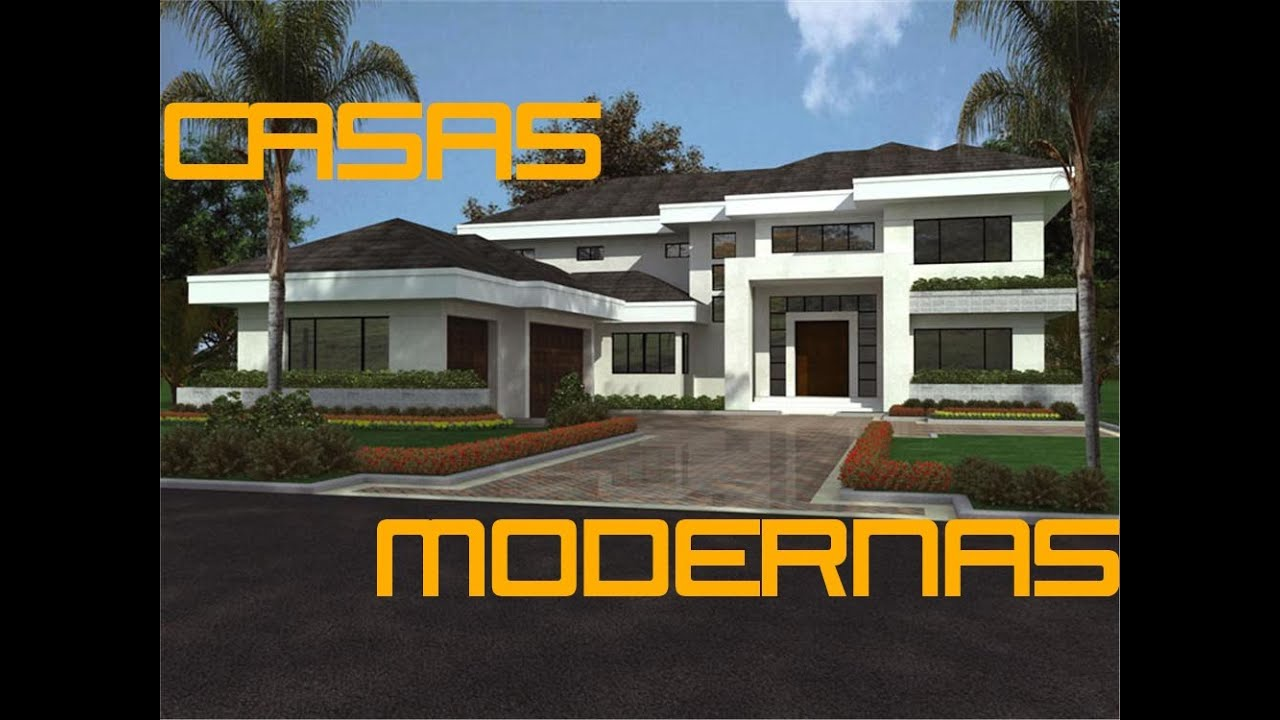 Casas modernas minecraft casa 3 youtube for Casas minecraft planos
