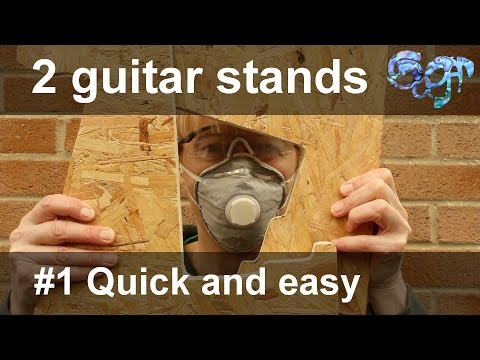 2 Guitar Stands - #1 The Quick and Easy version