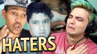 "REAGINDO A VÍDEOS DE HATERS - ""EU ODEIO FELIPE NETO"""