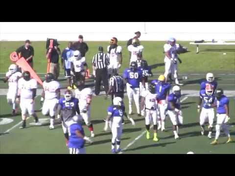 Team America vs Team World 2017 Globe Bowl Game Film