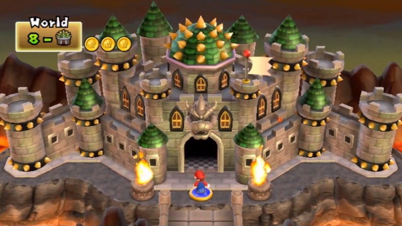 World 6-Ghost House (New Super Mario Bros. 2) - Super Mario Wiki ...