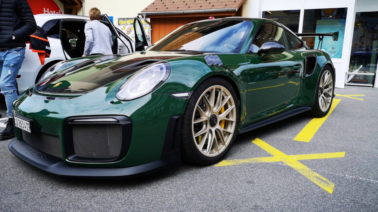 The Incredible Porsche Gt2 Rs British Racing Green Youtube