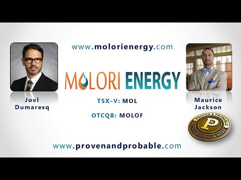 Molori Energy - Production, Reserves, Blue Sky