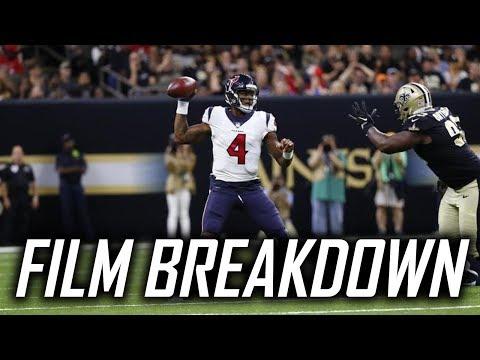 Film Breakdown: Deshaun Watson vs New Orleans Saints 2017 Preseason Week 3