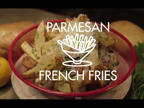 Parmesan French Fries (AIR FRIED) from YouTube · Duration:  4 minutes 56 seconds