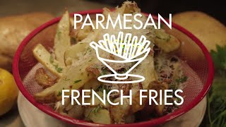 Parmesan French Fries - Air Fried By The Fat Kid Inside