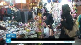 """""""دمشق الصغيرة"""" سوق دمشقية في ضواحي القاهرة"""
