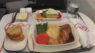 Business Class Kenya Airways KQ860 Bangkok to Hong Kong