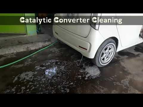Catalytic Converter Cleaning Pakistan Peshawar 2018 | EP #2