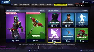 THE *NEW STORE* OF FORTNITE TODAY NOVEMBER 25 *NEW SKINS* TARO NARA AND AMAZING ALADELTA!
