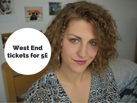 How to get cheap tickets -  West End edition