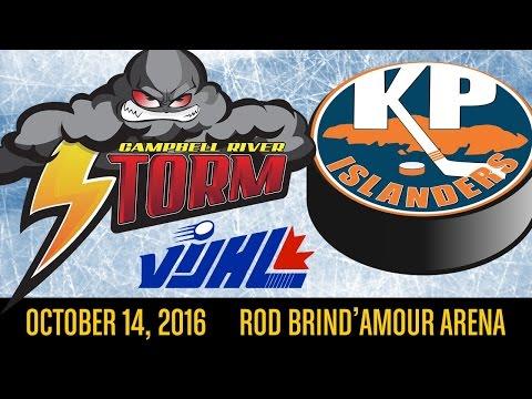 VIJHL Highlights Storm v Islanders 161014
