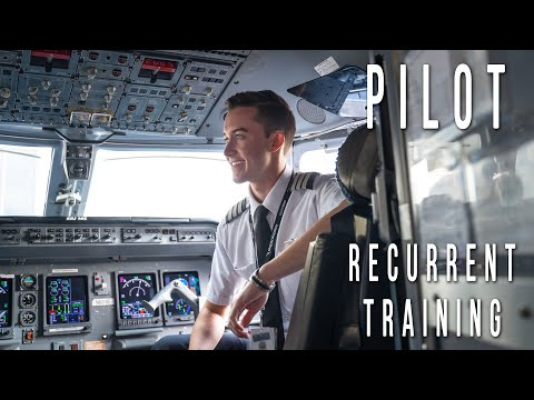 Airline Pilots Re-Train Every Year + How It Works