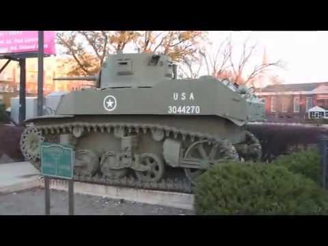 Oak Lawn Il. Tank Memorial, Vintage Pre WW2