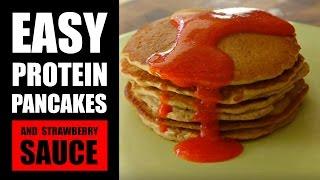 Best Protein Pancake Recipe! | Gluten-free Paleo-friendly