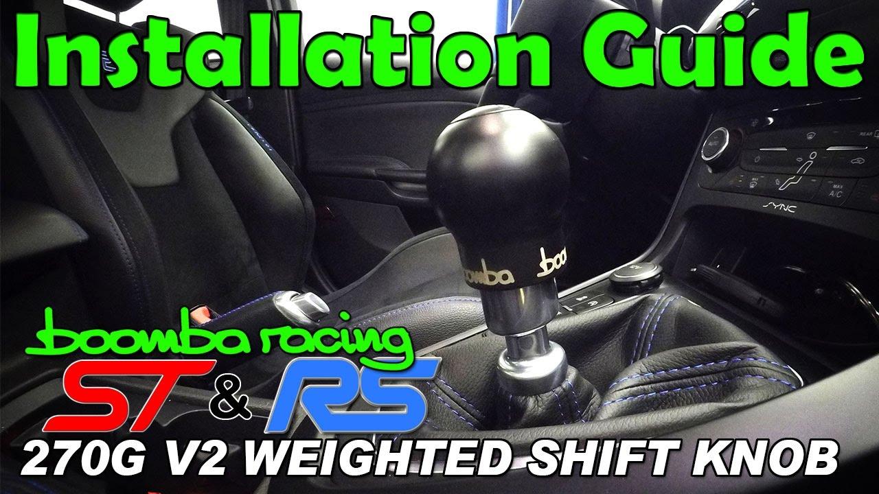 Fiesta ST Round Engraved Shift Knob 270g - V2