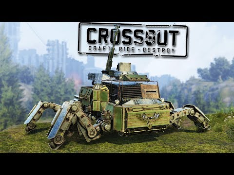 Crossout Scorpion Crafting