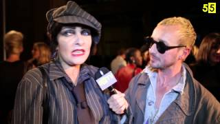 Siouxsie Sioux interview at Pam Hogg SS14