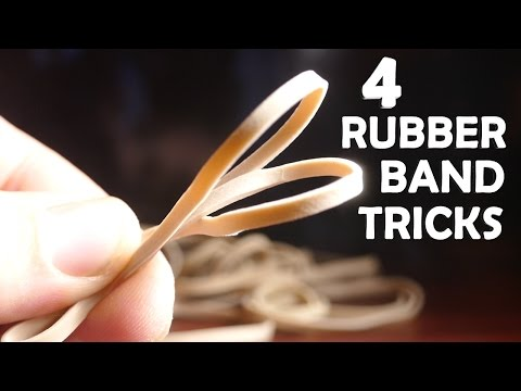 Thumbnail: 4 Incredible Tricks With Rubber Bands! - Super Easy, Very Impressive!!!