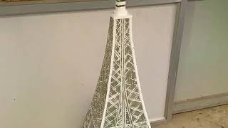 School Project - Eiffel Tower Model
