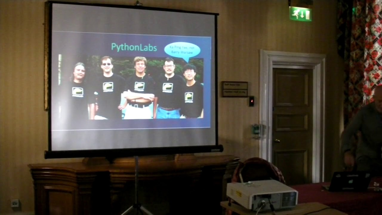 Image from The History of PyCon
