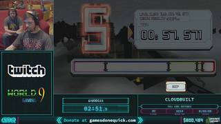 Cloudbuilt by Wob23 in 48:57 AGDQ 2018
