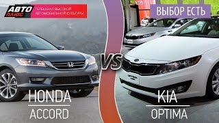 Выбор есть! - Honda Accord и KIA Optima