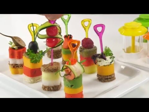 Формы для канапе PRESTO FoodStyle, 4 вида