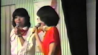 1981年のアニメフェスティバルの戸田恵子と麻上洋子が生で歌っている映...