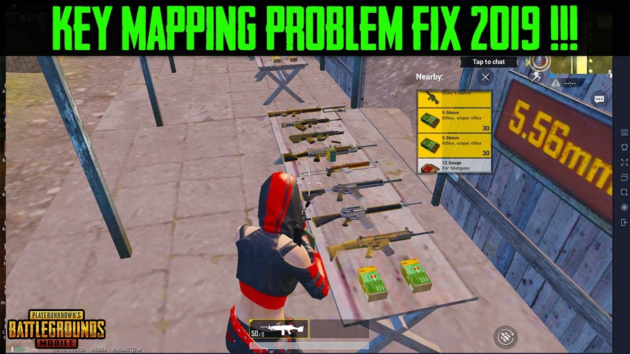 Tencent Gaming Buddy KEY MAPPING Problem *FIX | PUBG Mobile KEY MAPPING  PROBLEM | 2019 Solution !!!