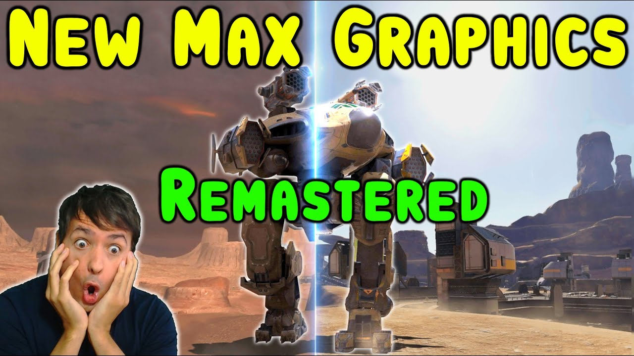 War Robots REMASTERED - ULTRA Max Graphics Setting - WR Gameplay