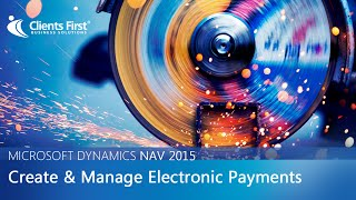 Create and Manage Electronic Payments in Microsoft Dynamics NAV 2015