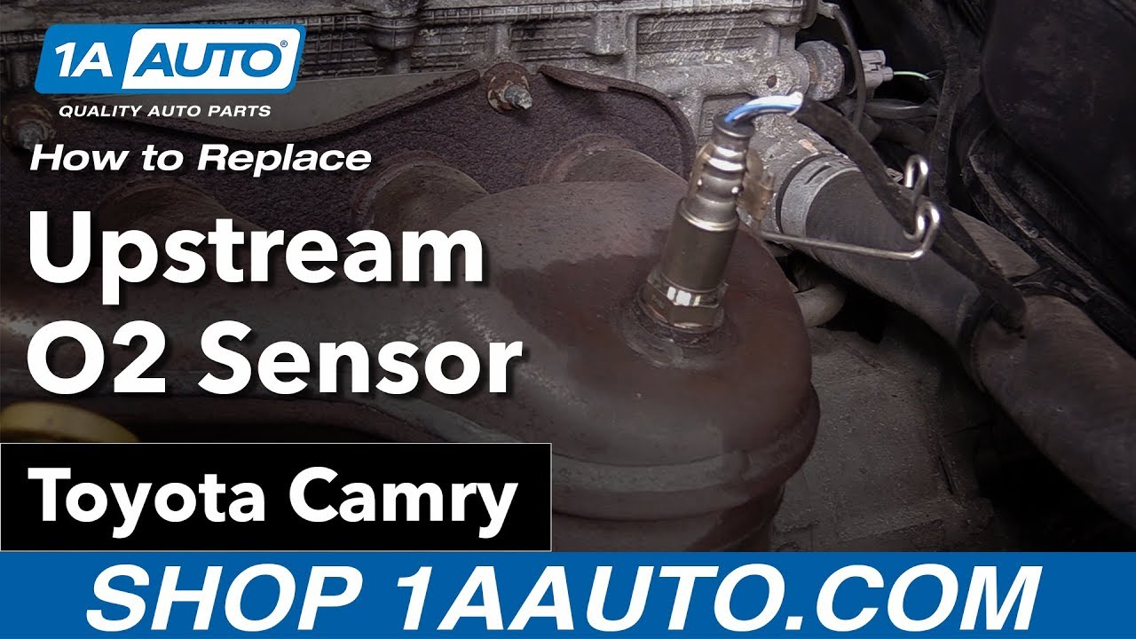 How To Replace Install Upstream O2 Sensor 07 12 Toyota Camry Youtube Highlander Oxygen Heater Control Circuit Low Bank 1