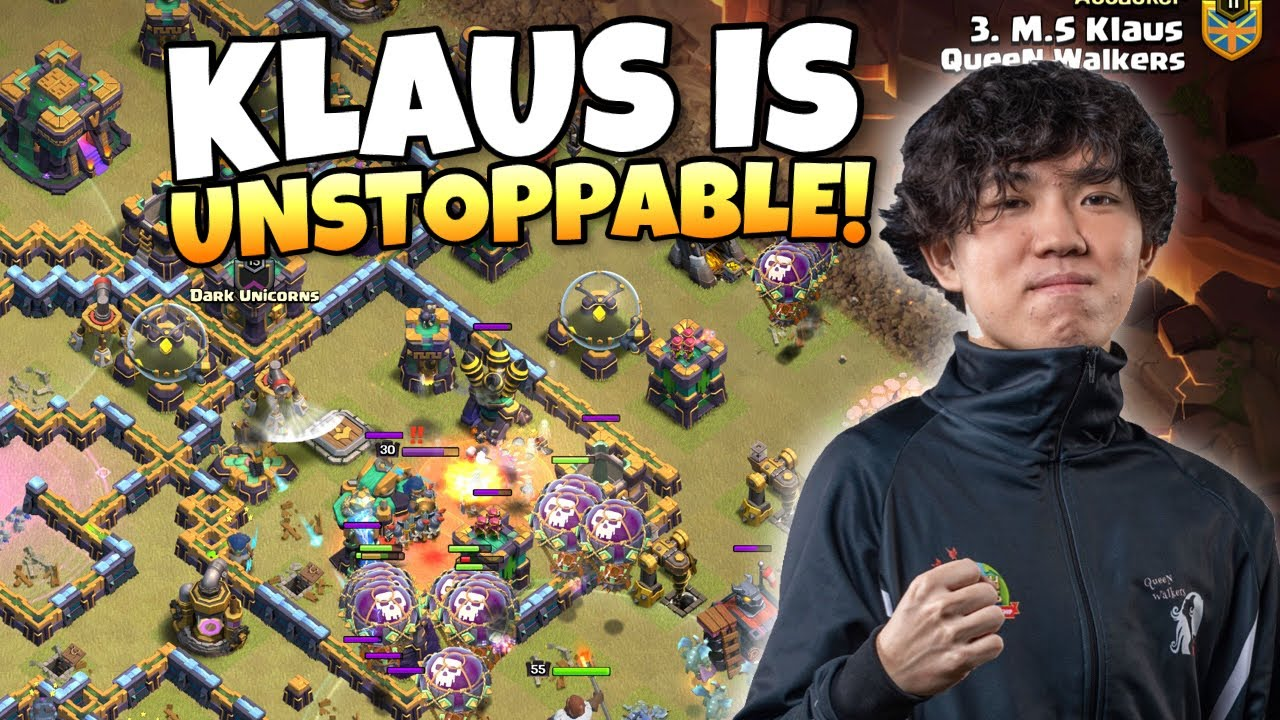 Download Can KLAUS save the QUEEN WALKERS from Elimination?! Clash of Clan eSports