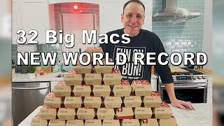Download Most Big Macs Ever Eaten by One Person | Joey Chestnut Sets New World Record Mp3 and Videos