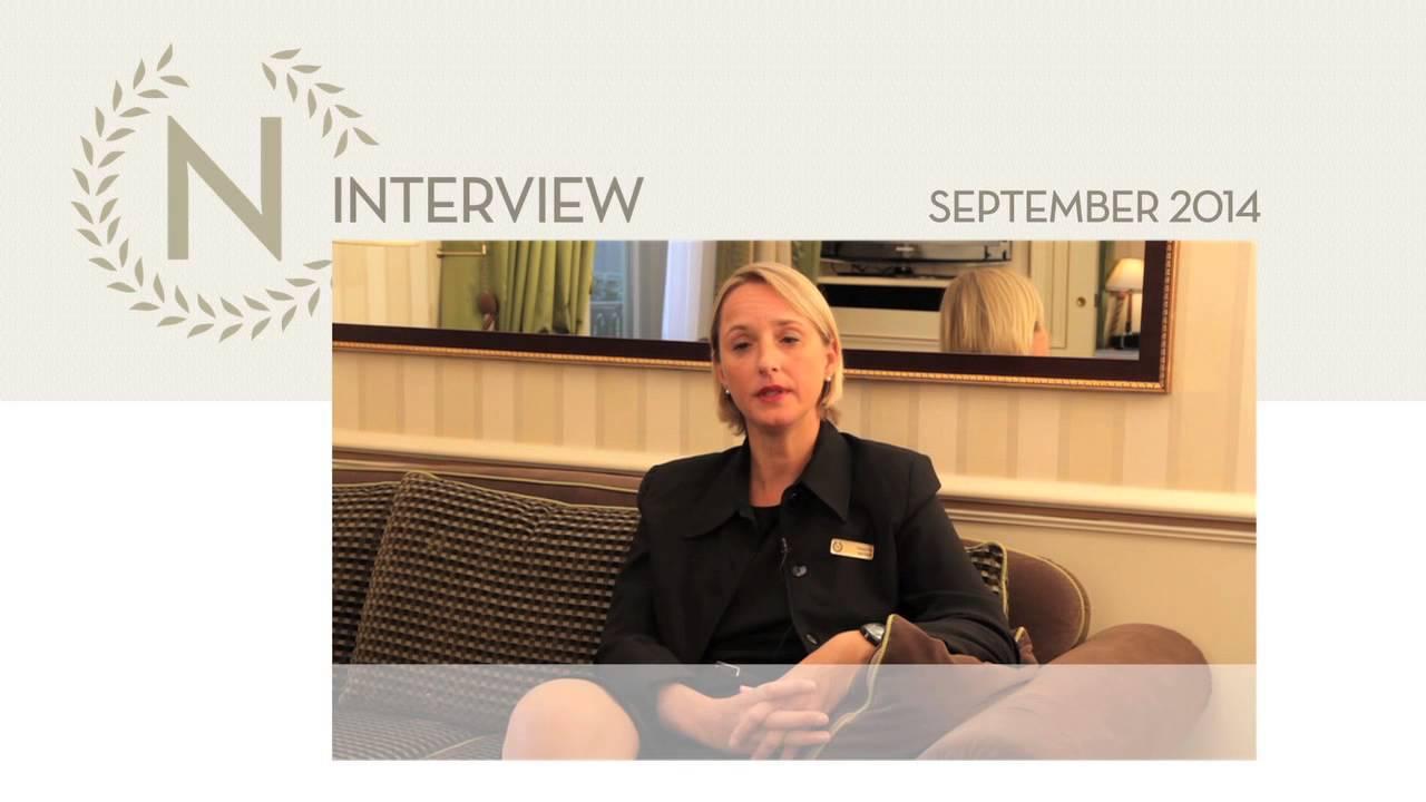 Fourth Episode : Natascha Menais, Head Housekeeper at the Hotel ...
