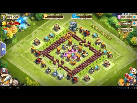 Castle Clash - On My Main - 6th Hero Base