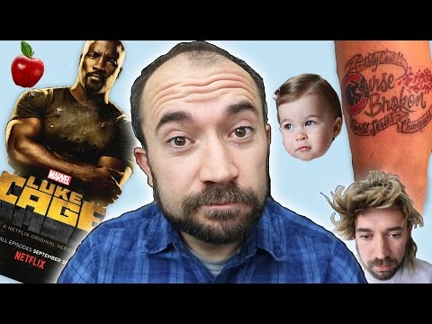 Luke Cage, Princess Charlotte, & Bad Tattoos