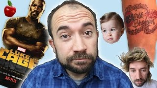 Luke Cage, Princess Charlotte, & Bad Tattoos