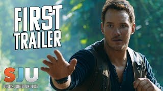 Let's Talk About That Jurassic World: Fallen Kingdom Trailer - SJU