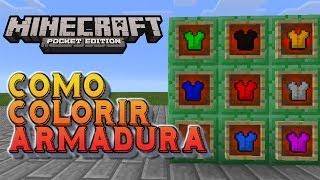 ⭐️Como Colorir  Armadura Minecraft
