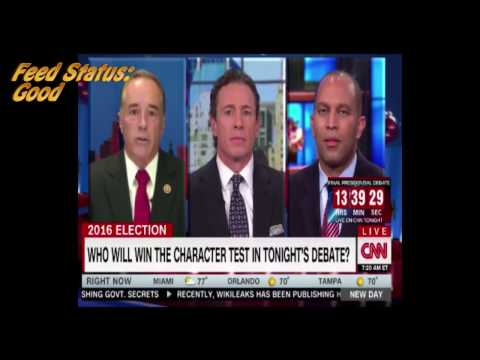 CNN cuts satellite feed as soon as WikiLeaks is mentioned by Congressman Collins