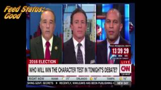 CNN cuts satellite feed as soon as WikiLeaks is mentioned by Congressman Collins thumbnail