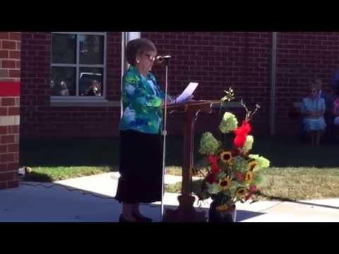 John Kerr Elementary School dedication. September 14, 2016