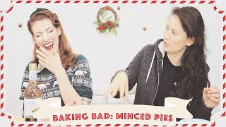 Baking Bad with Jessie and Claud: Mince Pies ~DRAMATIC~ // Vlogmas 2019 Day 7