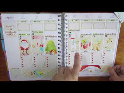 Decorando o Planner para o Natal! || Kits Tati Charms thumbnail