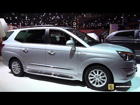 2015 Ssang Yong Rodius 4WD Diesel - Exterior and Interior Walkaround - 2014 Paris Auto Show