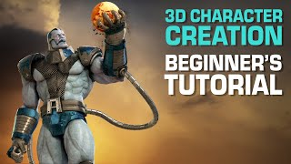 3D Character Creation Tutorial For Beginners