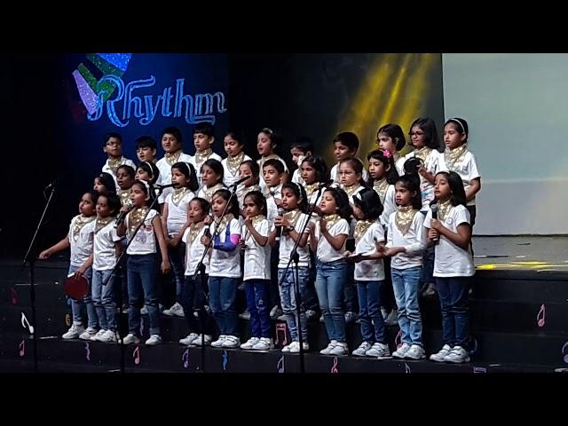 Our own English girls high school al Warqa grade 1p music